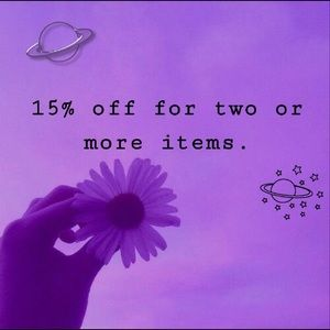 We offer a discount!